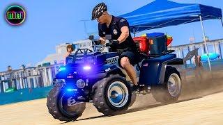 GTA 5 - LSPDFR Beach Patrol - Illegal Sandcastles