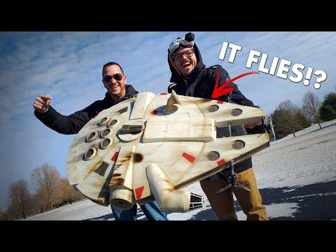 making-it-fly!-😱|-rc-star-wars-millennium-falcon💫