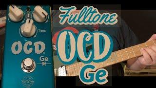 Fulltone OCD Ge Overdrive