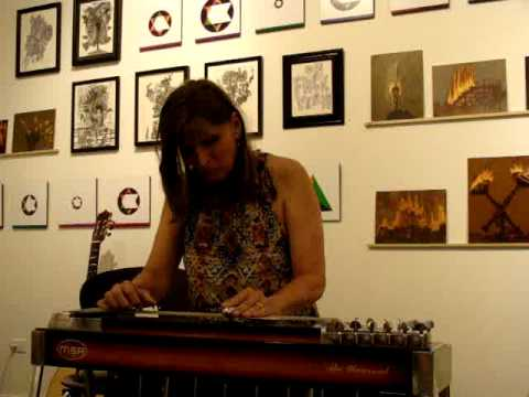 Pedal Steel Guitar innovator Susan Alcorn performs at Plus Gallery July 28, 2012