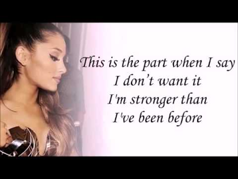 ariana grande break free with lyrics