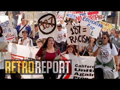 Trump's Immigration Rhetoric Echoes a Bitter Fight in the 90s | Retro Report