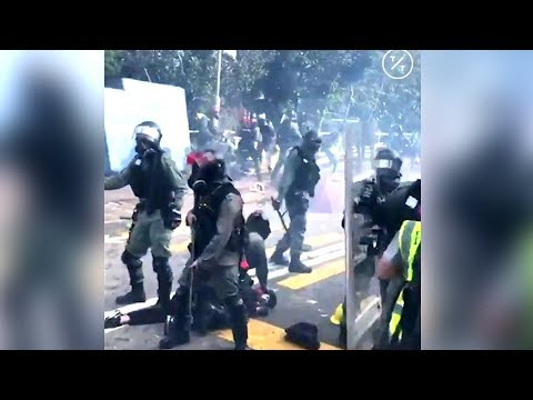 Absolutely Insane Video from Hong Kong