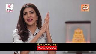 Gambar cover Mom Shaming - Strong Mothers   Manchu Lakshmi in talk with Dr Mani Pavitra -Million Moms