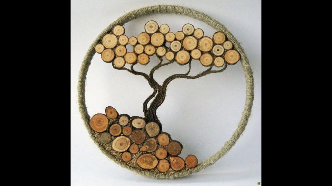 Сделать спилы дерева своими руками