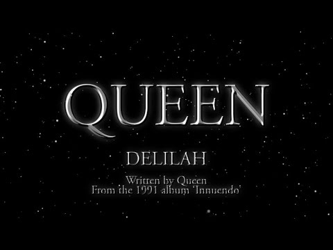 Queen - Delilah - (Official Lyric Video)