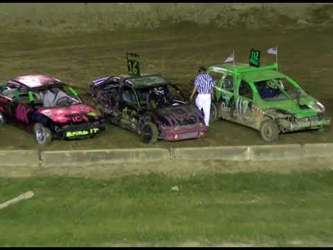 The Great Geauga County Fair 2018 - The worst Demolition Derby Ever