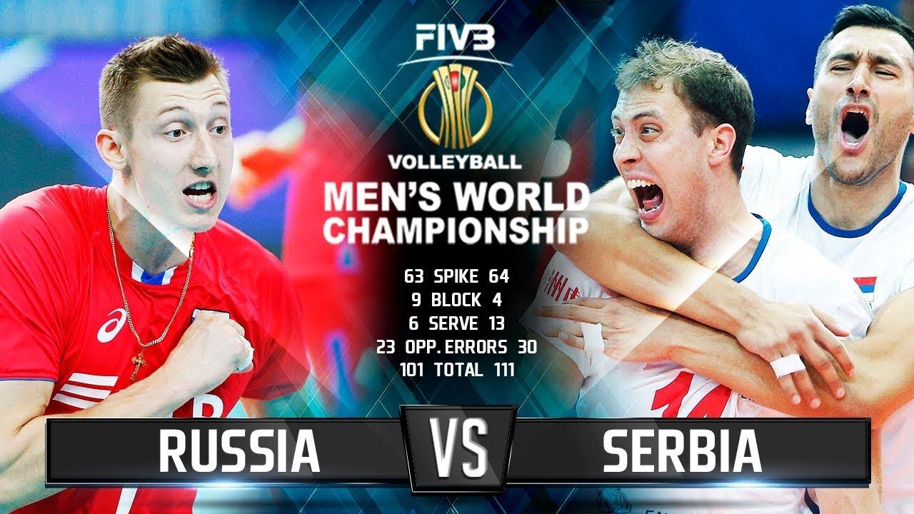 Russia vs Serbia Highlights