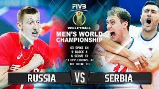Russia vs. Serbia | Highlights | Men's World Championship 2018