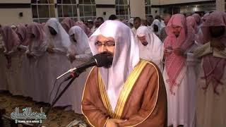تلاوة محبرة تخشع لها القلوب للشيخ ناصر القطامي   ليلة 18 رمضان 1433