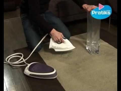 comment redresser une moquette ou un tapis ecrase