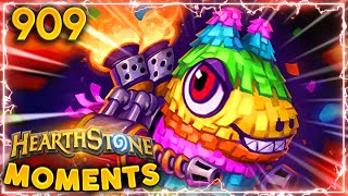 The ATTACK Of The KILLER PIÑATA!! | Hearthstone Daily Moments Ep.909