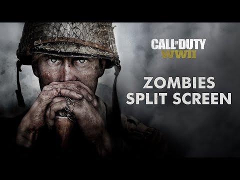 COD WW2 Zombies Split Screen