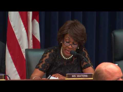 Ranking Member Waters Q&A with Secretary Mnuchin - 07/27/2017