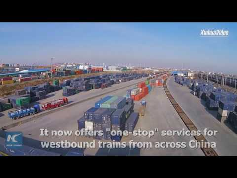 Over 300 China-Europe freight trains launched from Urumqi logistics center