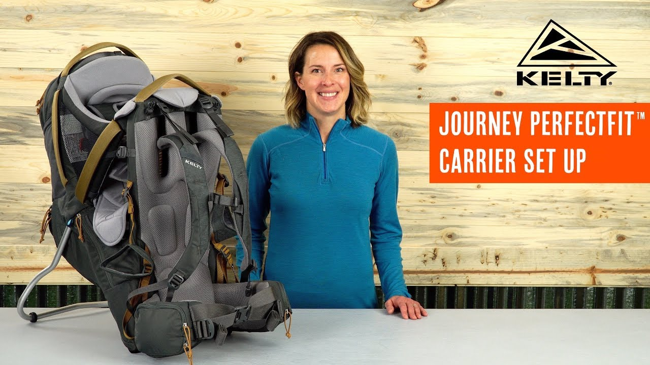 107ee5b3f91 Kelty PerfectFit Child Carrier How To - YouTube