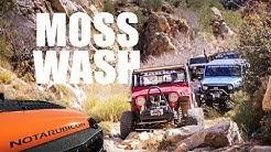 Off Roading At Moss Wash In The Hualapai Mountains Near Kingman Arizona