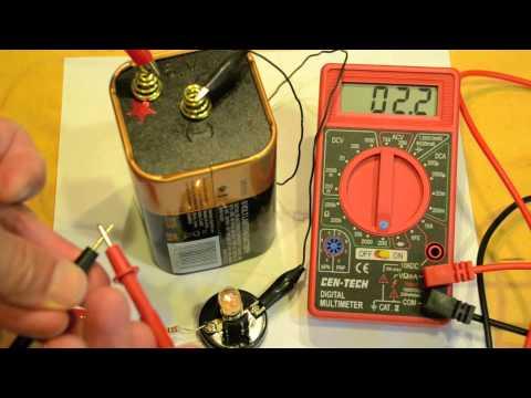 Measuring Resistance with a Digital Multimeter