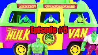Hulk Episode 5 ! Hulk Friends & Grandpa Hulk Get New Hulk Van ! Superhero Toys