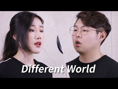 Alan Walker - Different World Feat. Sofia Carson, K-391 & CORSAK (Cover With Lyrics) By Highcloud