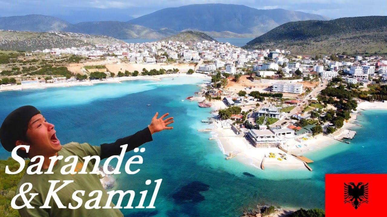 Secret Beaches, Amazing Campsite In Albania. Cycled From Saranda To Ksamil.
