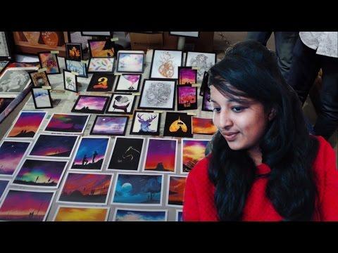 Art fair Bangalore - 2017 [ Chitrasanthe ]