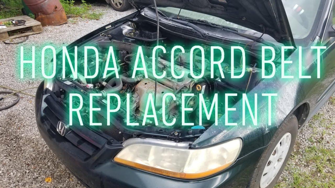 Diy Honda Accord Belt Replacement