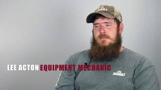 Workforce Wednesday #4 - Lee Acton - Equipment Mechanic