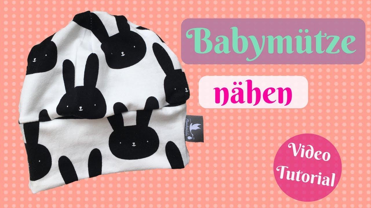 Babymütze nähen- mit kostenlosem Schnittmuster - Nähe eine ...