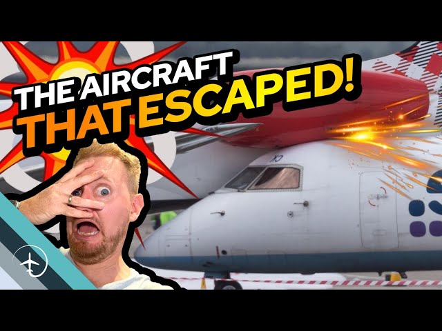 Runaway Aircraft crashes into parked Embraer ERJ-145 in Aberdeen! Explained