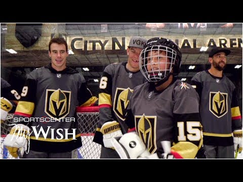 My Wish: Marc-Andre Fleury, Golden Knights Make Teen's Wish Come True | SportsCenter
