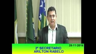 Arilton Rabelo Pronunciamento 25 11 16