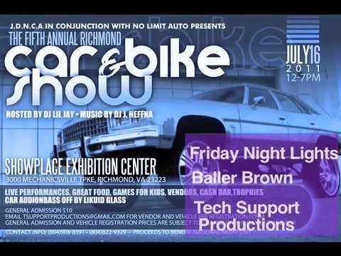 5th Annual Richmond City Car And Bike Show Youtube