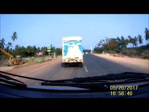 Roads in Goa: Panjim to Dabolim Airport