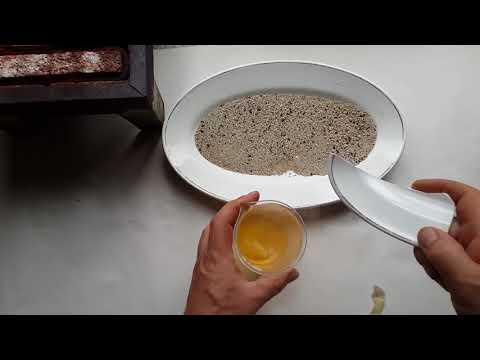 Как извлечь золото из песка в домашних условиях