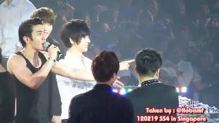 [120219] SS4SG Yesung before Water Punishment