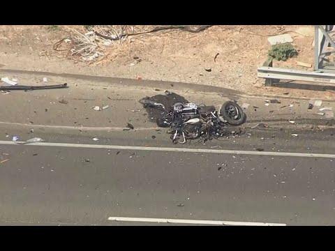 CHP CRASH: Raw video of crash scene on I-80 near Fairfield where CHP  officer was injured
