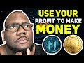 How to invest money from your lending wallet in Davorcoin to another site like Monetizecoin
