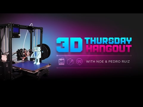 3D Hangouts - Ultimaker 3 and Gold Hammers