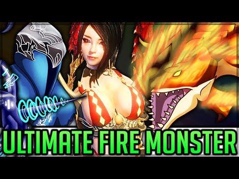 NEW DEVIANT MONSTER - Dark Souls Crossover - New Weapons - Pro/Noob - Monster Hunter World PC Mods!