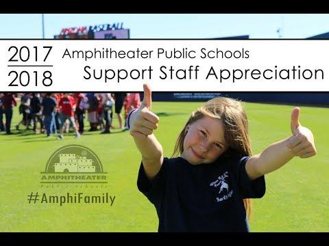 2017-18 Amphi Support Staff Appreciation