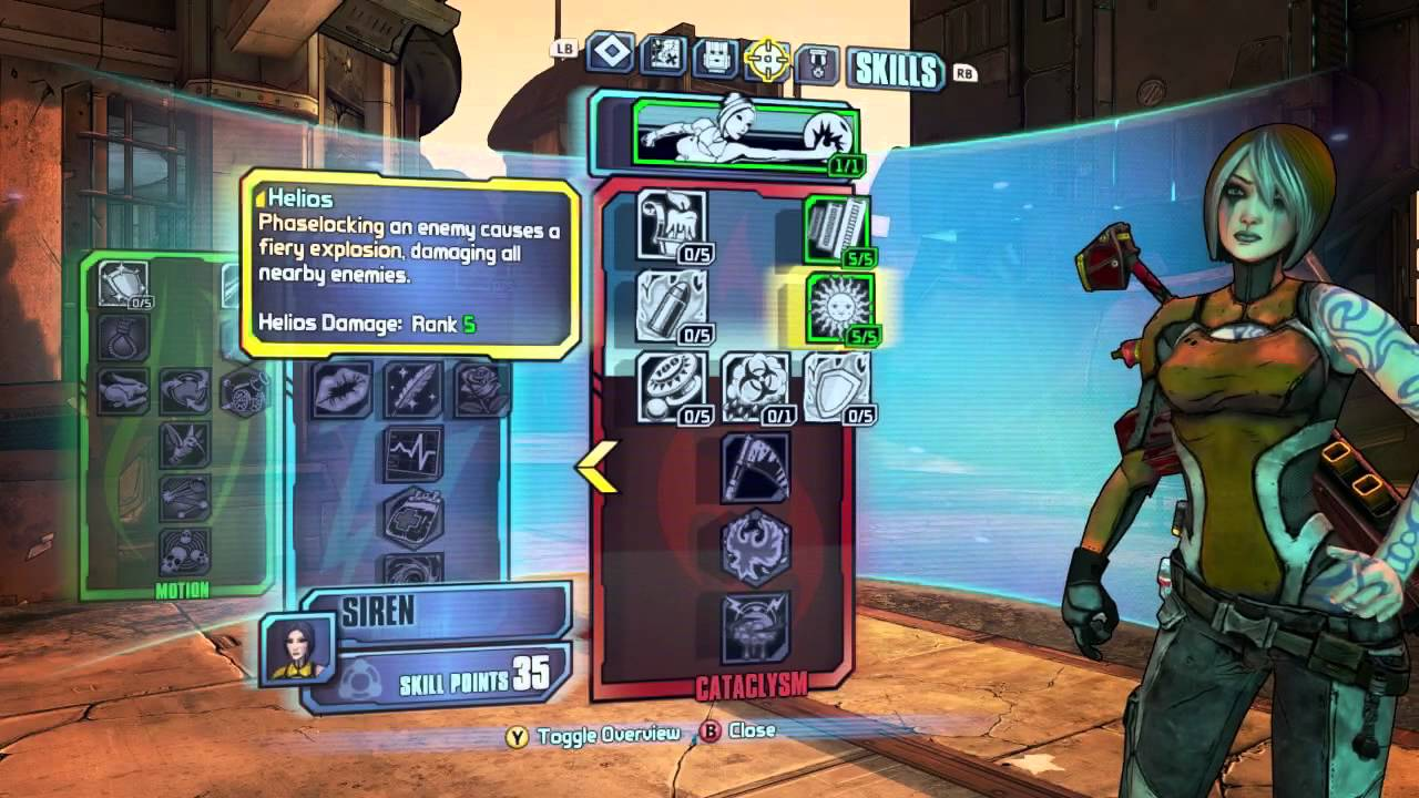 borderlands lilith build