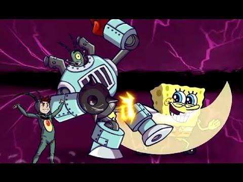 Super Brawl 3: GOOD Vs. Evil (Plankton) - Nickelodeon Games