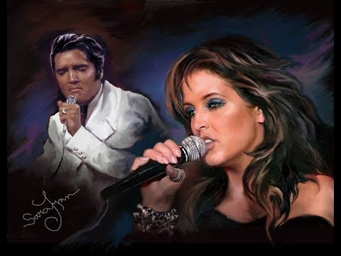 LISA-MARIE and ELVIS PRESLEY, SPECIAL DUETS !