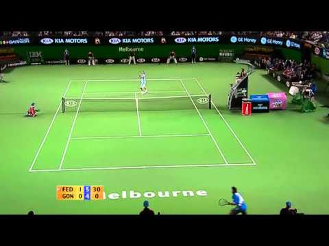 Roger Federer vs Fernando Gonzalez   Australian Open 2007 Final Highlights