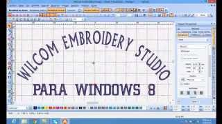 Repeat youtube video wilcom embroidery studio e1 5 para windows 8 en 32 y 64 bits
