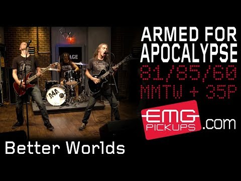 Armed for Apocalypse performs Better Worlds live on EMGtv
