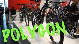 New POLYGON Bikes 2015 (Collosus, DHX) - Eurobike 2014