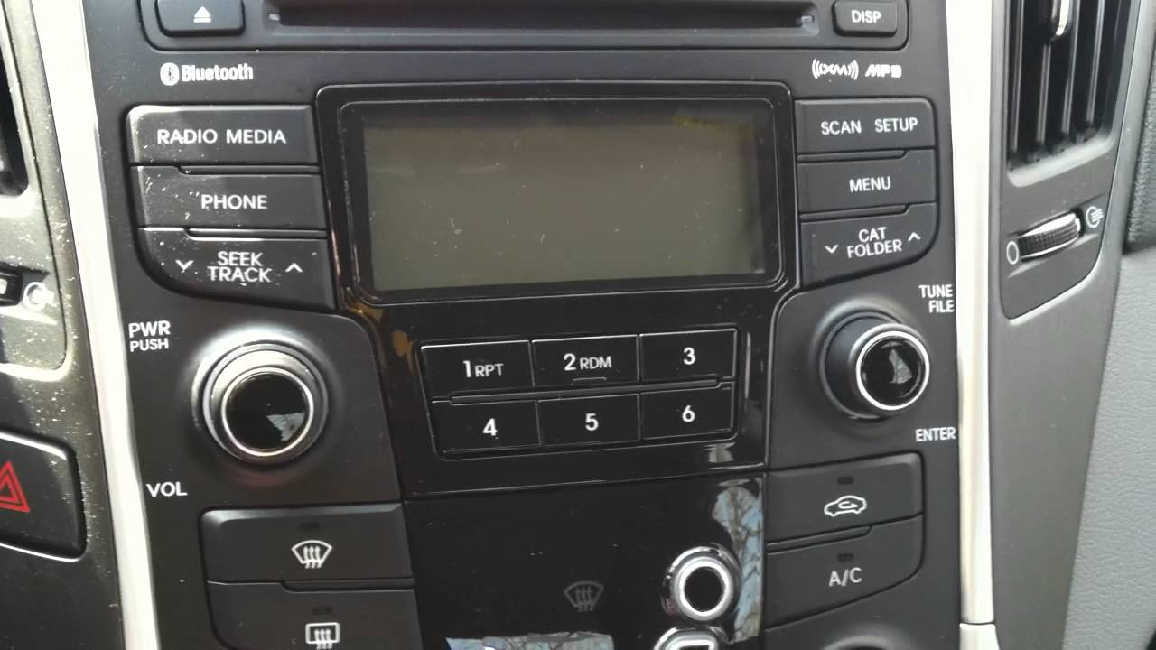 2012 sonatum stereo wiring diagram [ 1280 x 720 Pixel ]