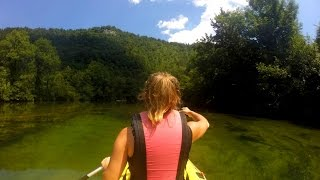 RAFTING ON THE KOLPA RIVER IN SLOVENIA! | Daily Travel Vlog 152, Bela Krajina, HD